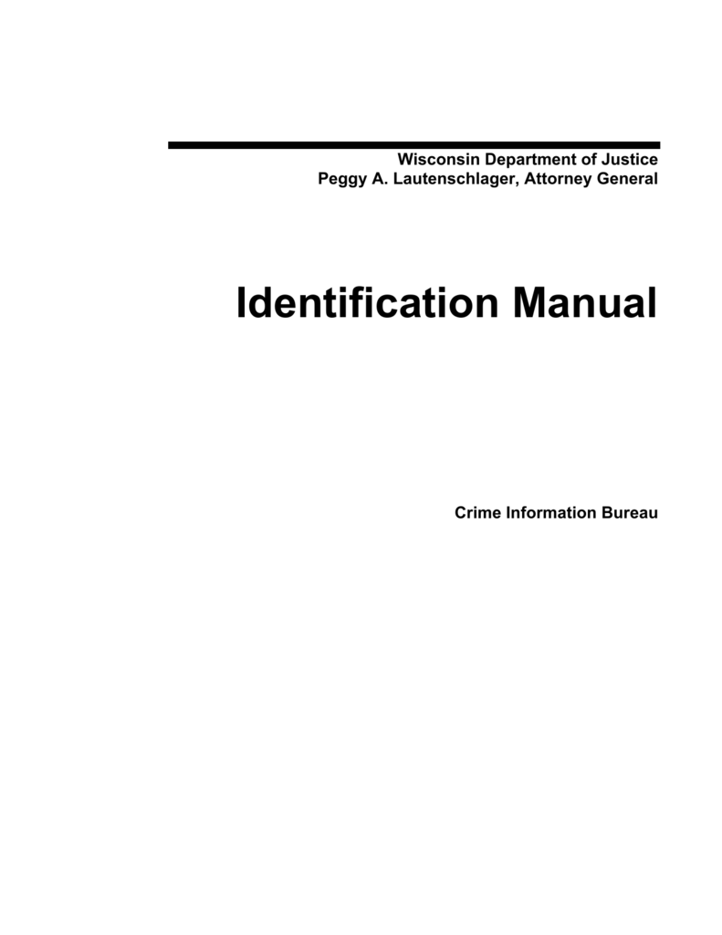 wisconsin probation and parole manual