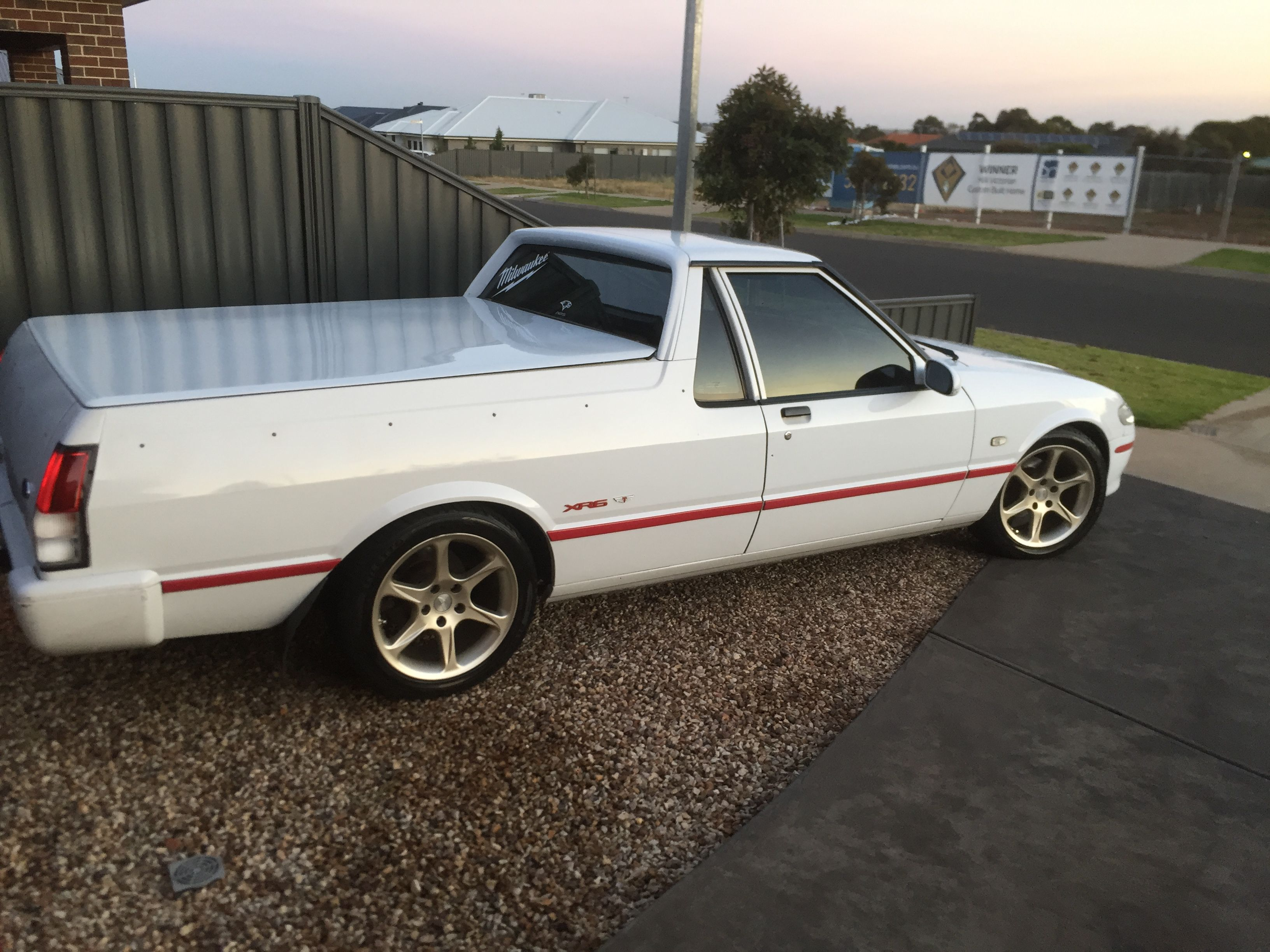 manual xr6 ute for sale