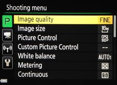 best manual settings to shoot moon coolpix p600