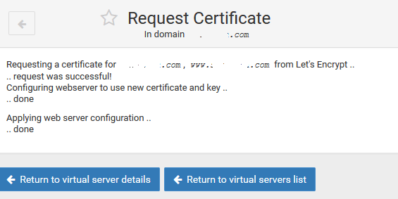 webmin months between automatic renewal only renew manually