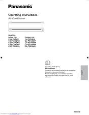 panasonic cs cu z24rkr installation manual