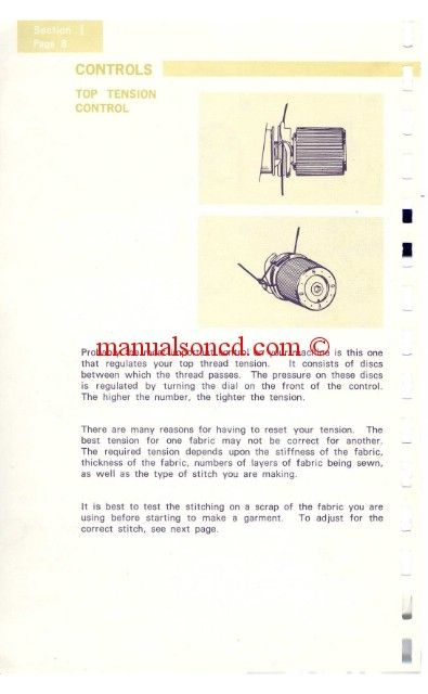 kenmore sewing machine instruction manual