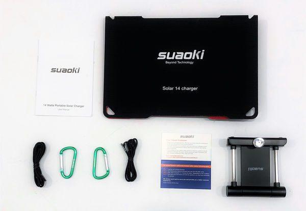 suaoki solar usb charger manual 10000mw