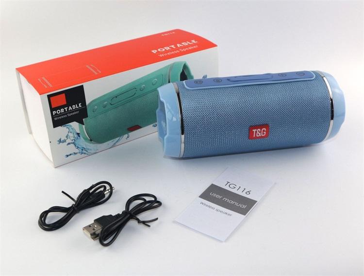 t&g speaker tg116 manual