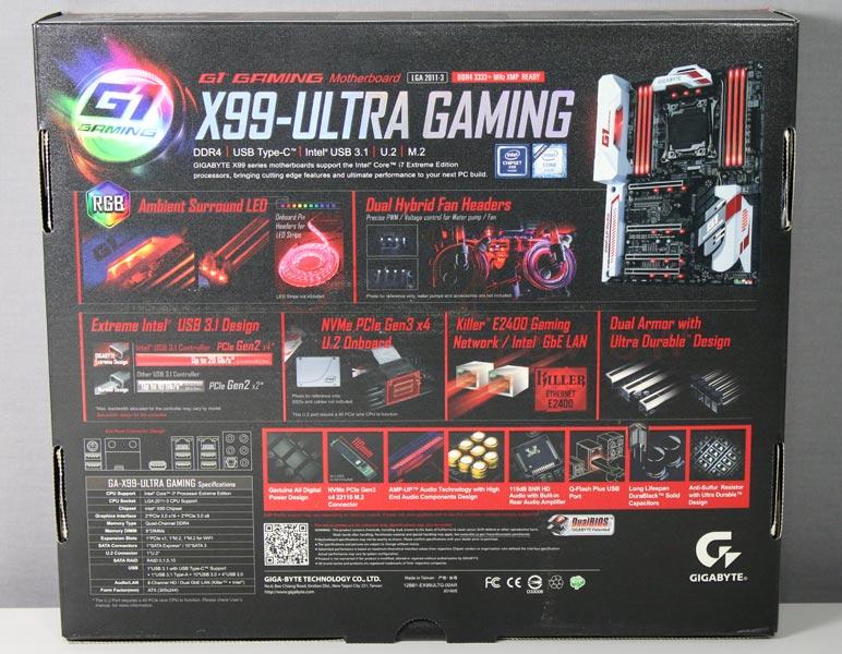 gigabyte x99 ultra gaming manual