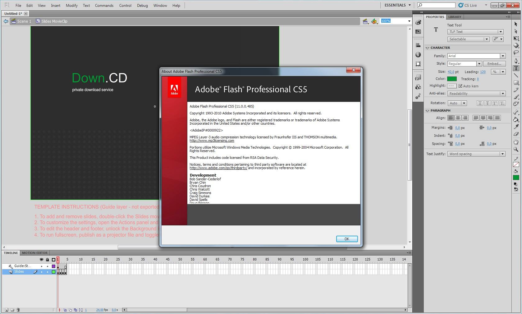 how to manually add adobe flash catalog