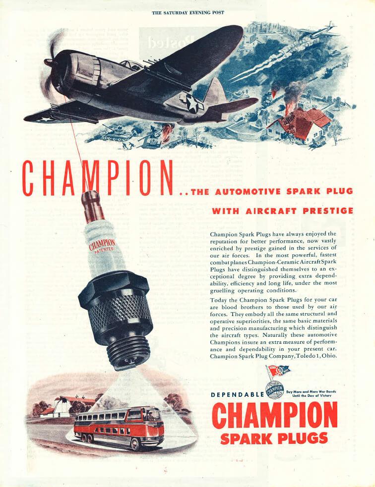 champion aviation spark plug manual