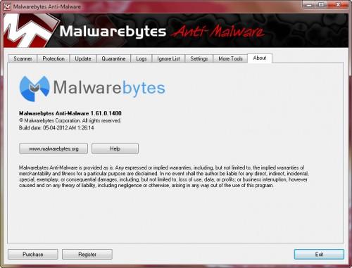 malwarebytes will not update database manual