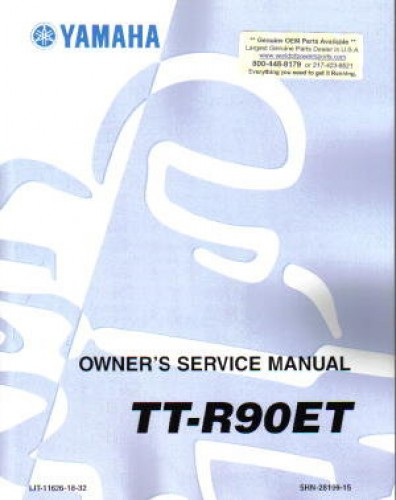 yamaha ttr 90 repair manual free