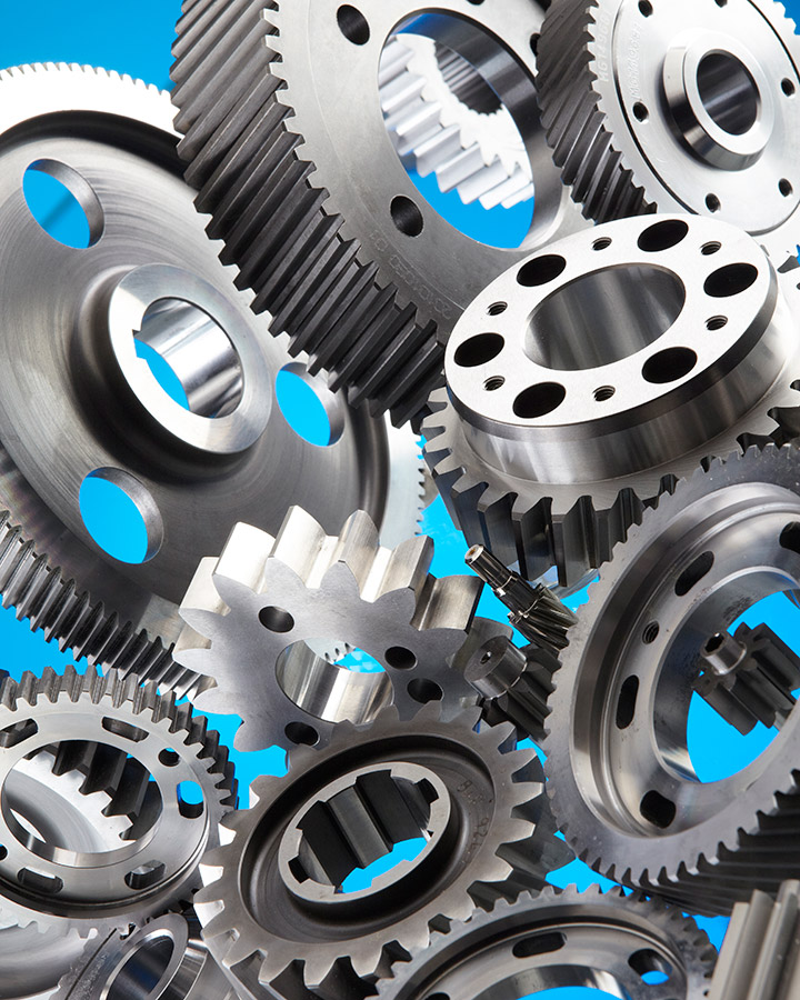 straight cut gears is used in a typical manual transmission