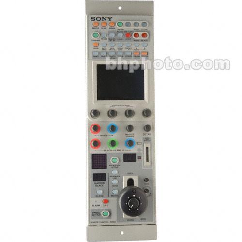 sony remote camera control manual