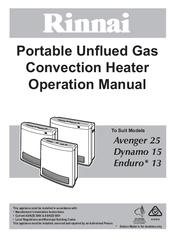 rinnai convector 516tr service manual