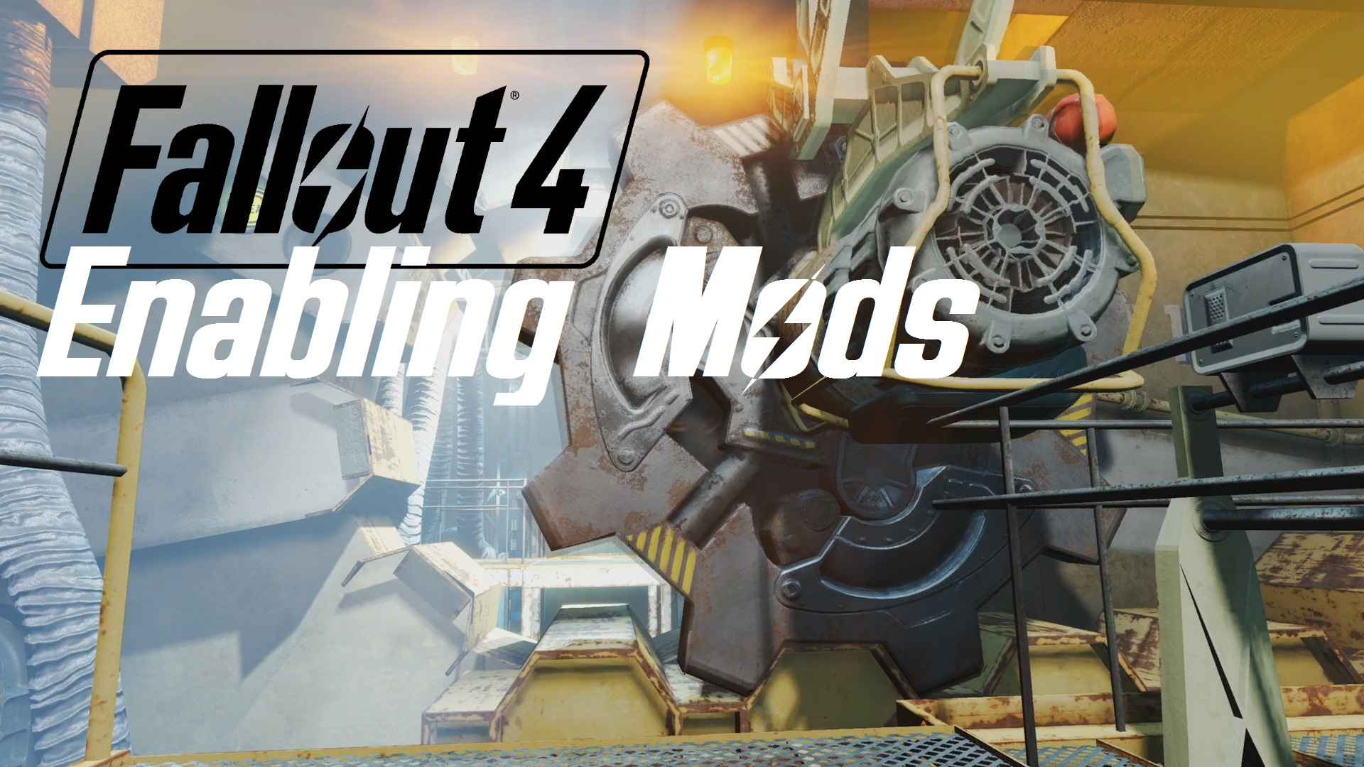 manually install fallout 4 mods