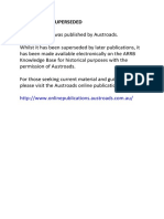 austroads road planning and design manual