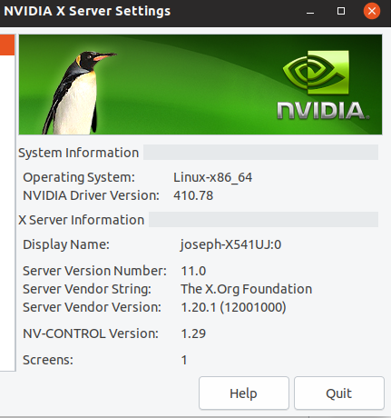 can nvidia drivers be installed manually