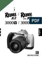 canon eos rebel xs user manual