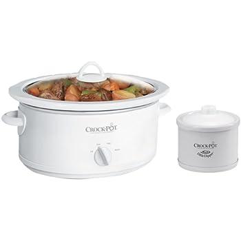 crock pot 5 qt manual slow cooker