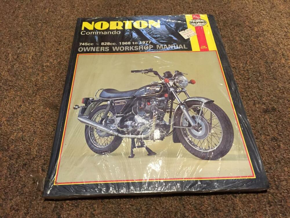 Workshop Manual For 2014 Norton Commando 961