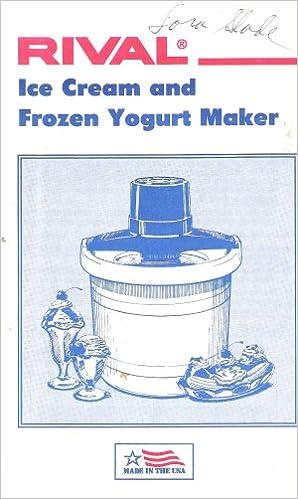 rival ice cream maker manual 8420