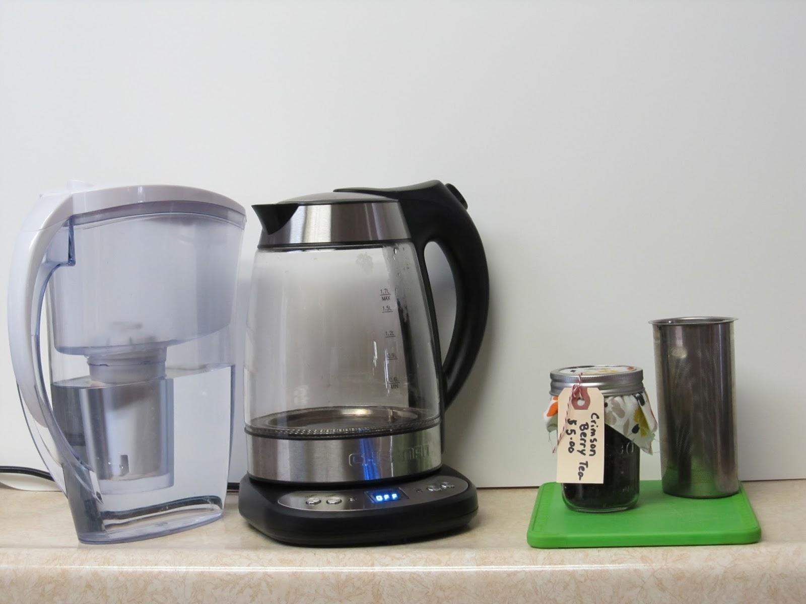 chefman precision electric kettle manual