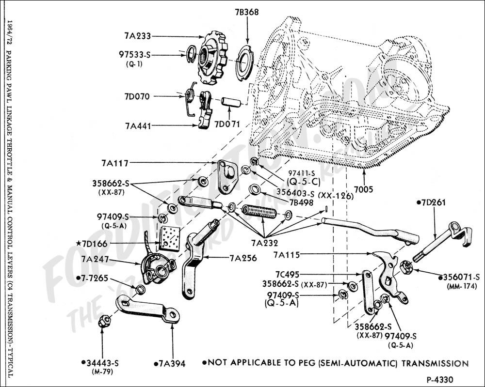 1998 ford ranger manual transmission parts