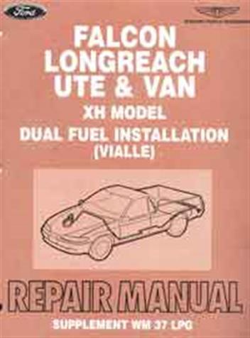 ford au2 lpg workshop manual