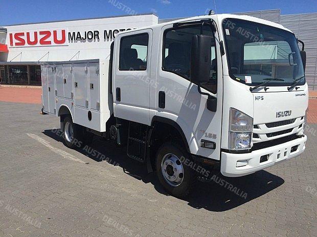 isuzu nps 300 4x4 owners manual
