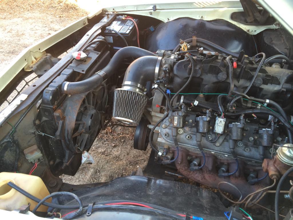 ke30 manual auto radiator conversion forum