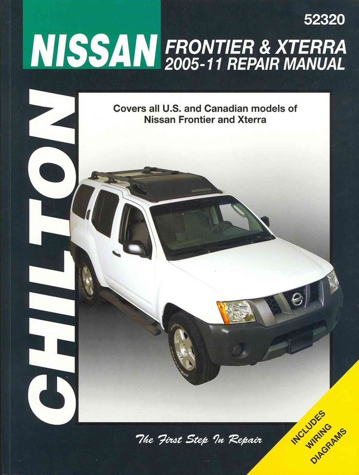 nissan frontier service manual 2004