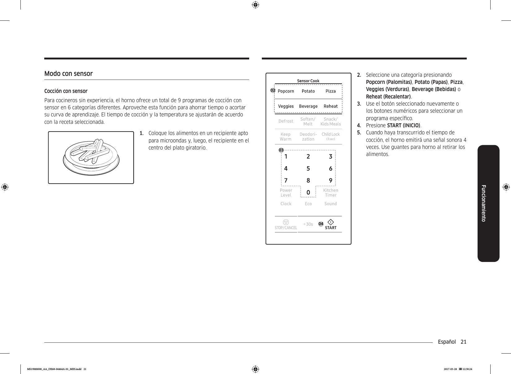 samsung microwave me73n user manual