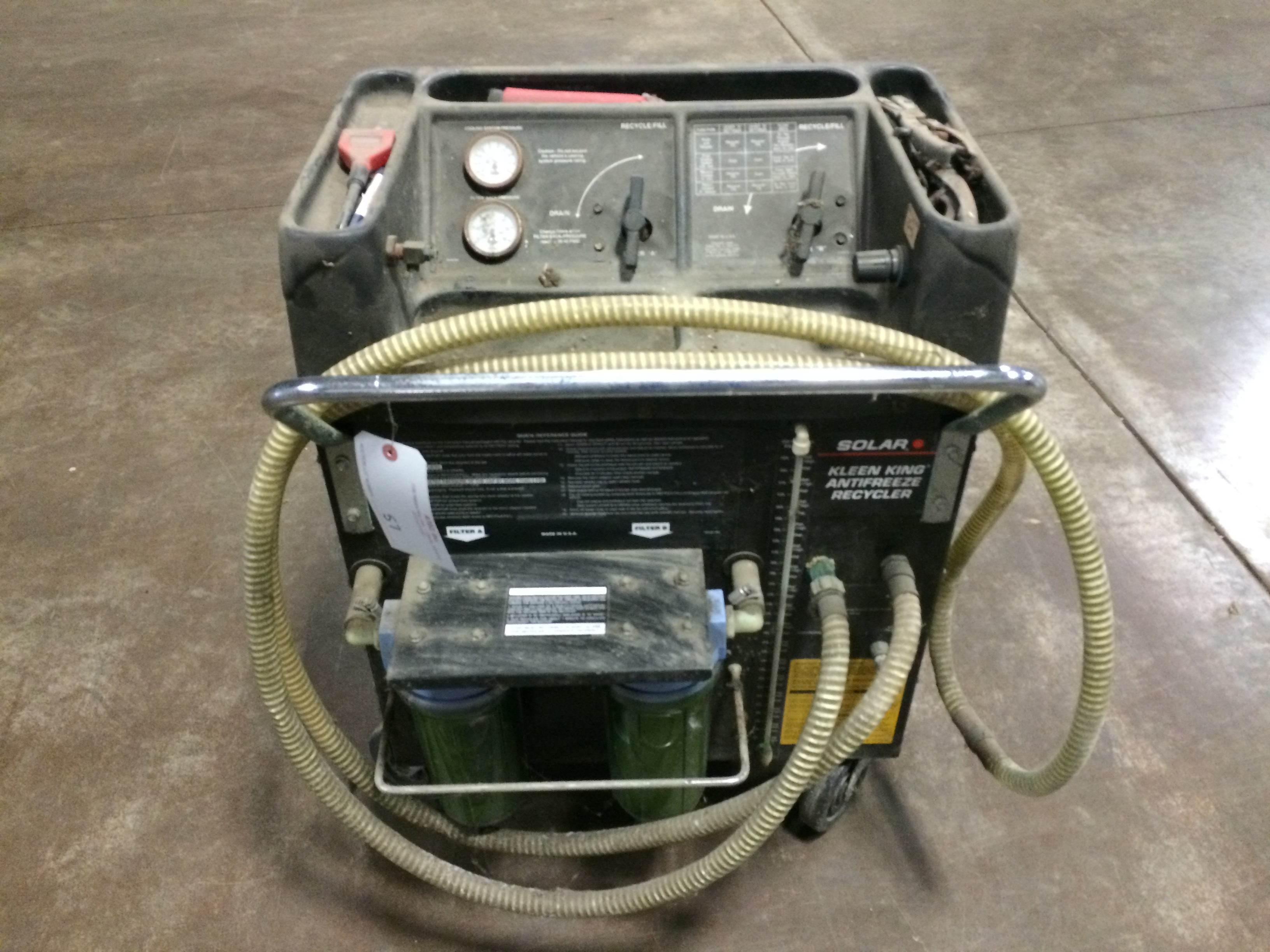 solar kleen king antifreeze recycler manual