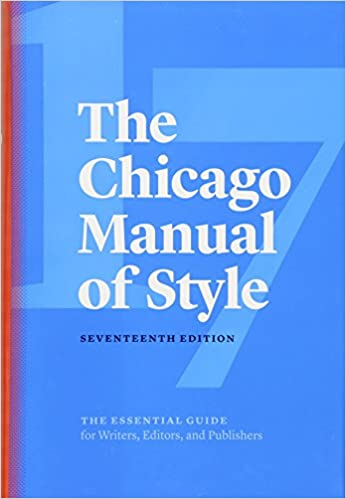 the chicago manual of style cheapest