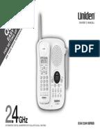 uniden x dect instruction manual 8115