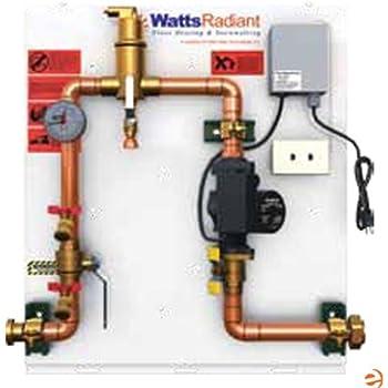 watts hot water recirculating pump manual