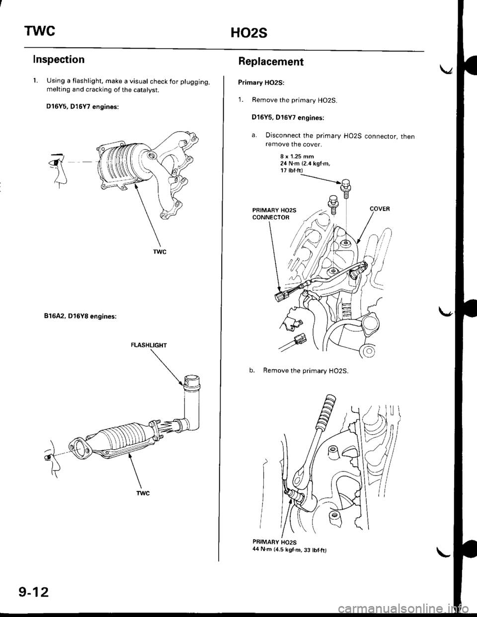 workshop manuals for honda civic ek1